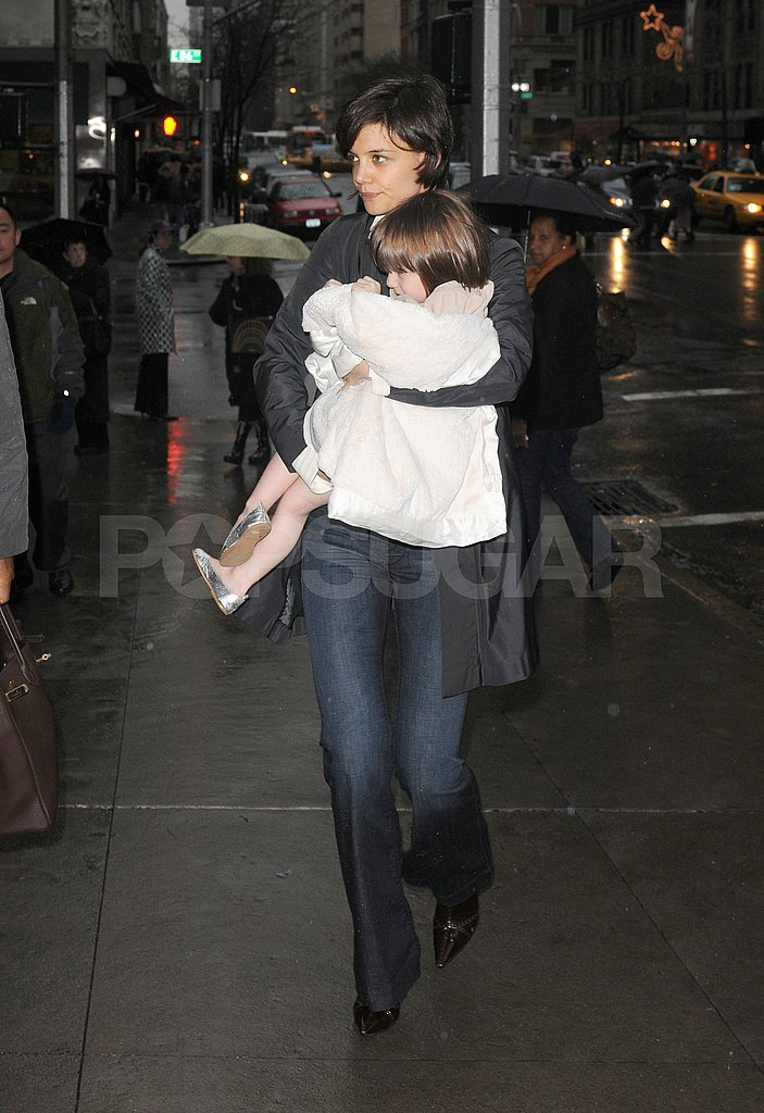 Tom and Katie in NYC