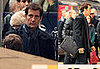 Photos of Clive Owen Filming in The London Underground
