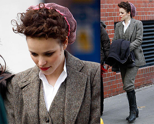 Photos of Rachel McAdams Filming Sherlock Holmes in London, Source Said Ryan Gosling and Rachel McAdams Still In Love