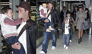 The Beckhams Reunite and Take Flight