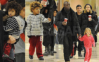 Photos of Heidi Klum and Family at LAX