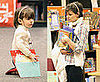 Photos of Katie Holmes and Suri Cruise at Borders in NYC