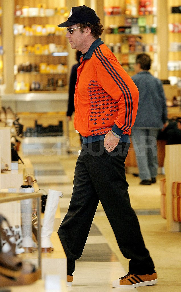 Will Farrell Shops at Saks on Christmas Eve