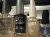 Photos: Sparkling Black Creme Polish