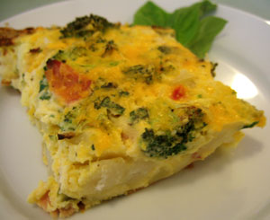 Healthy Start to 2009: Hash Brown Strata