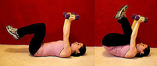 Get Lifted: Reverse Dumbbell Crunch