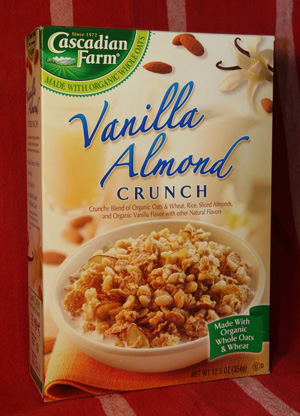 Food Review: Cascadian Farm Vanilla Almond Crunch