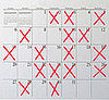 Fit Tip: X Your Calendar After You Work Out