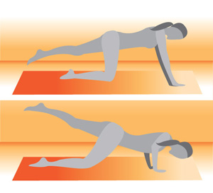 No Equipment Necessary: One-Legged Push-Up