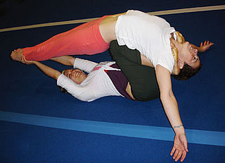 Partner Yoga Pose: Supported Flying Arch