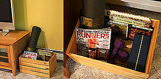 Fit Tip: Keep a Fitness Bin by Your TV
