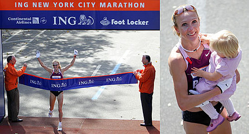 Mommy Marathoner Wins NYC Marathon Again!