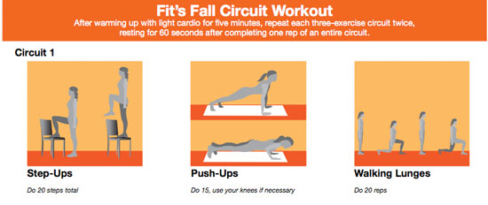Print It: Fit's Fall Circuit Workout