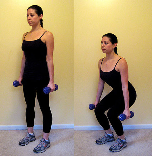 Back to Basics: Dumbbell Squats