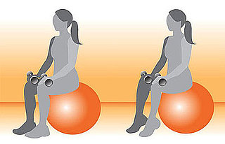 Get on the Ball: Calf Raises