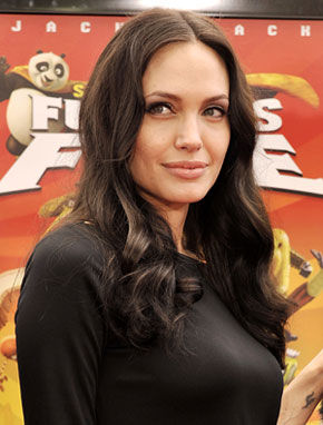 Angelina Gets Fit Playing Video Games