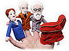 Product of the Day: Psychoanalysis Finger Puppets