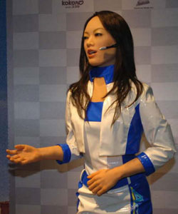 Japanese Robot Woman
