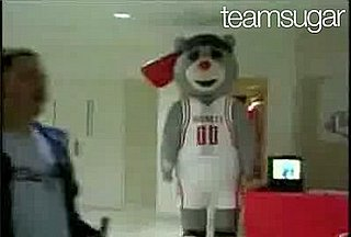 Houston Rockets Bear Gets His