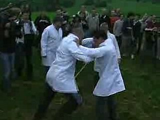 British Shin-Kicking Contest