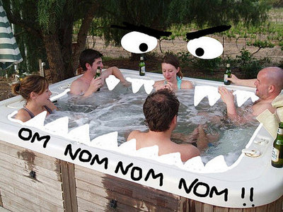 The Nom Nom Monster Is Everywhere