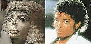 Michael Jackson Looks Like an Ancient Egyptian