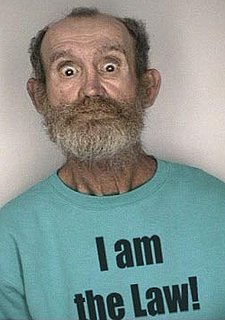 Inappropriate T-Shirts and Mug Shots