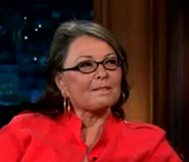 Roseanne Barr on The Late Late Show with Craig Ferguson