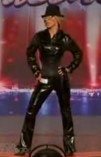 Britney Spears Impersonator on America's Got Talent