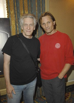 Viggo Mortensen and David Cronenberg
