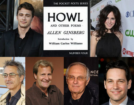 Allen Ginsberg Biopic, Howl, Gets Stellar Cast and Crew