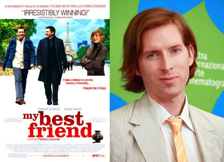 Next Up From Wes Anderson: My Best Friend