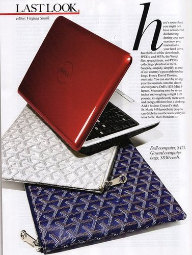 Goyard Puts Out an $830 Laptop Sleeve