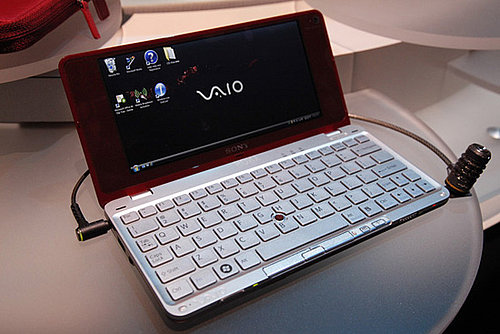 Sony's Trendy New 8-Inch Netbook