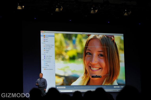 Face Recognition on the New iPhoto!