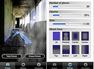 The Ghost Cam iPhone App Adds Ghosts to Your iPhone Pictures