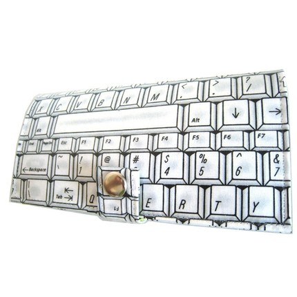 QWERTY Pocketbook Slash Checkbook Holder