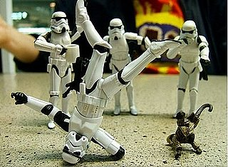 Star Wars Fan and Photographer Takes Funny Pictures of Stormtrooper Figurines