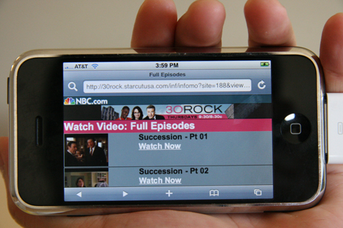 Watch The Office and 30 Rock For Free On Your iPhone