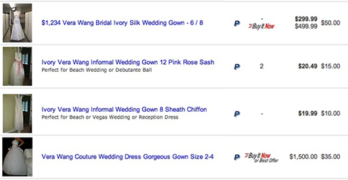 Would You Buy a Worn Wedding Dress on eBay?