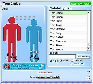 TallorNot Lets You Compare Your Height With That of Celebrities