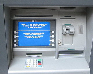Since When Did Bank Machines Get So Personal?