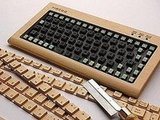 Wooden DIY Keyboard