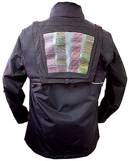 Solar Panels Debut on a Windbreaker