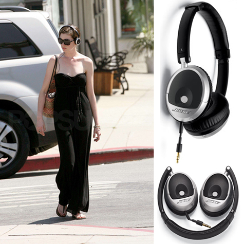 Anne Hathaway Gets Bose Smart