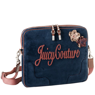 Juicy Couture Velour Laptop Case