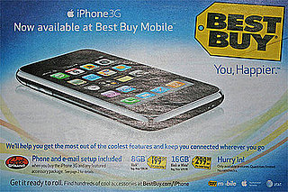 The iPhone 3G Hits Best Buy Stores Today!