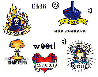 Geek Temporary Tattoos: Love or Leave?
