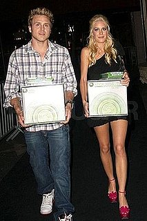 Heidi Montag and Spencer Pratt Leave Facebreaker Release Party with Two Xbox 360s