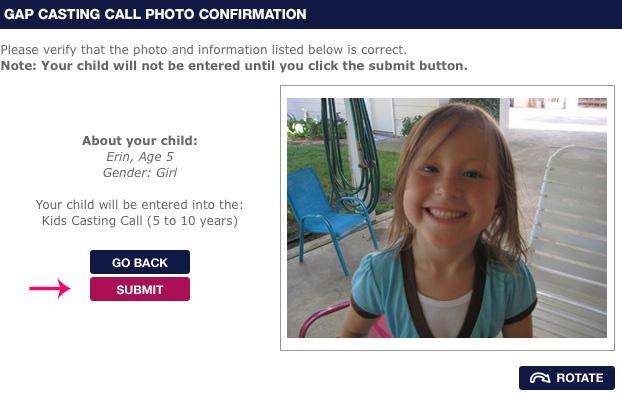 Step Four: Verify Your Photo and Info